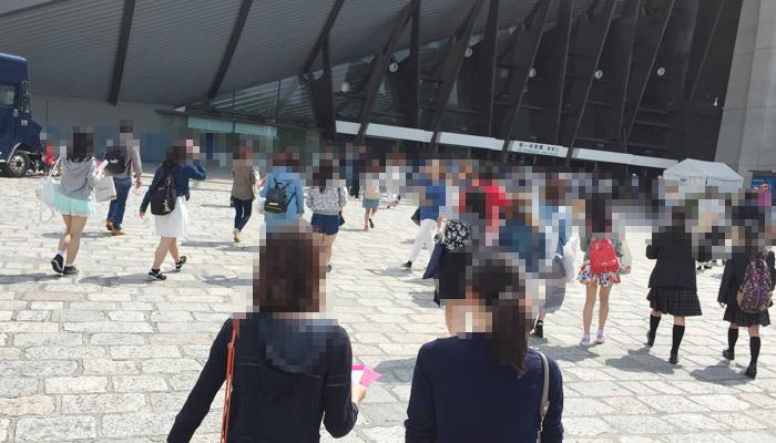 ガールズアワード2015 楽天入場口