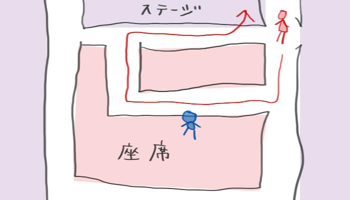 乃木坂浪漫 座席