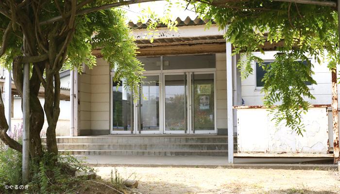 旧八代小学校中庭